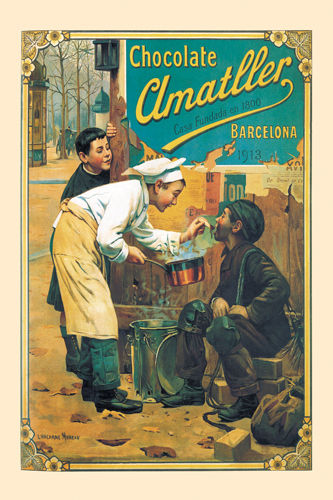 Unknown Chocolate Amatller 1913