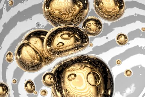 Uwe Steger Golden Bubble