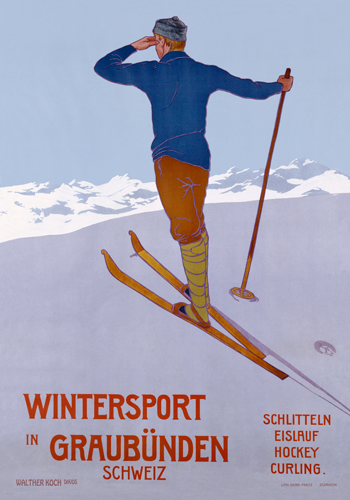 Walther Koch Wintersport In Graubunden