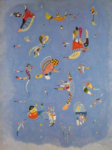 Wassily Kandinsky Himmelsblau