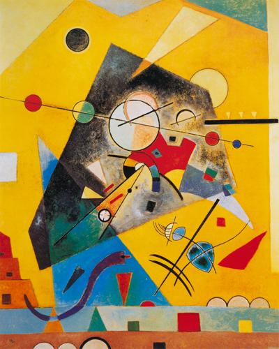 Wassily Kandinsky Stille Harmonie
