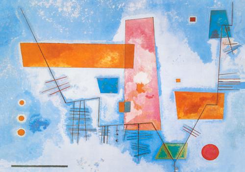 Wassily Kandinsky Struttura Angolare
