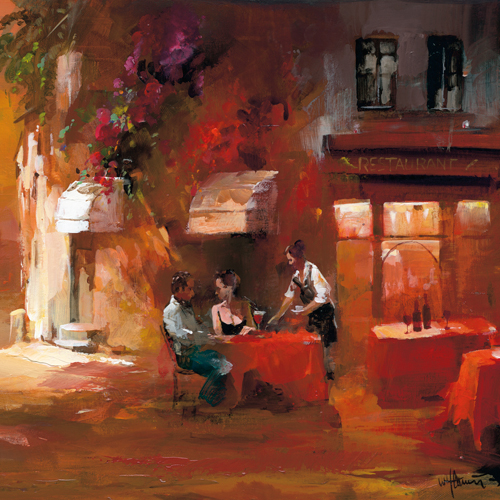 Willem Haenraets Dinner For Two Iii