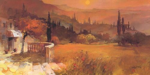 Willem Haenraets Romantic Tuscany I