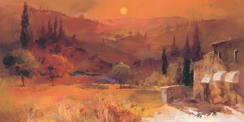 Willem Haenraets Romantic Tuscany Ii