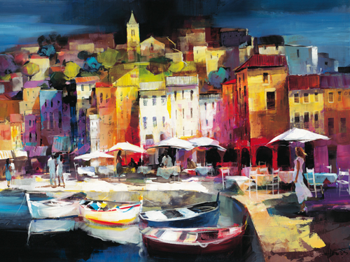 Willem Haenraets Seaport Town Ii