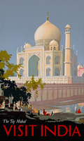 William Spencer Bagdatopoulus Visit India The Taj Mahal